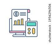 business market value... | Shutterstock .eps vector #1956296506