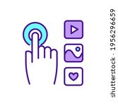 interactive media rgb color... | Shutterstock .eps vector #1956296659