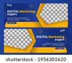 digital marketing expert banner ... | Shutterstock .eps vector #1956302620