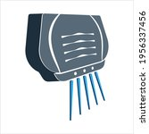 hand dryer icon hand dryer... | Shutterstock .eps vector #1956337456