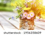 A Bouquet Of Wildflowers Of...