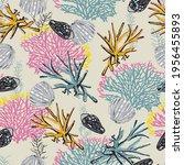 beautiful seamless natural... | Shutterstock .eps vector #1956455893