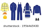working clothes isolated....   Shutterstock .eps vector #1956465430