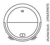 vacuum electric vacuum cleaner...   Shutterstock .eps vector #1956559870