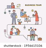 business people characters and... | Shutterstock .eps vector #1956615106
