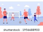 people of different ages... | Shutterstock .eps vector #1956688903
