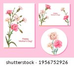 set of templates for mother's...   Shutterstock .eps vector #1956752926