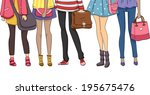 cropped illustration featuring... | Shutterstock .eps vector #195675476