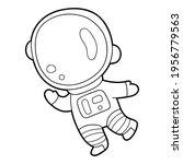 vector illustration coloring... | Shutterstock .eps vector #1956779563