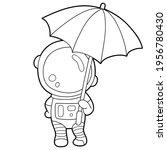 vector illustration coloring... | Shutterstock .eps vector #1956780430