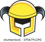 cool and simple war helmet... | Shutterstock .eps vector #1956791290