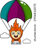cartoon character illustration... | Shutterstock .eps vector #1956816070
