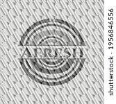 afresh silver shiny emblem.... | Shutterstock .eps vector #1956846556