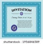 retro vintage invitation. good... | Shutterstock .eps vector #1956846589