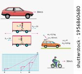 physics shapes force and motion   Shutterstock .eps vector #1956860680