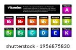 multi vitamin complex icons set....   Shutterstock .eps vector #1956875830