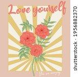 love yourself motivational...   Shutterstock .eps vector #1956882370