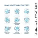 family doctor blue concept... | Shutterstock .eps vector #1956917449