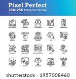 digital marketing thin line...   Shutterstock .eps vector #1957008460