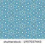 abstract fantasy striped thin... | Shutterstock .eps vector #1957037443
