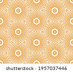 abstract fantasy striped thin... | Shutterstock .eps vector #1957037446