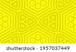 abstract fantasy striped thin... | Shutterstock .eps vector #1957037449
