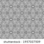 abstract fantasy striped thin... | Shutterstock .eps vector #1957037509