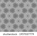 abstract fantasy striped thin... | Shutterstock .eps vector #1957037779