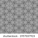 abstract fantasy striped thin... | Shutterstock .eps vector #1957037923