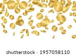 falling from the top a lot of... | Shutterstock .eps vector #1957058110