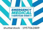 emergency medical services week ... | Shutterstock .eps vector #1957062889