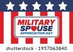 military spouse appreciation... | Shutterstock .eps vector #1957063840