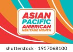 asian pacific american heritage ... | Shutterstock .eps vector #1957068100