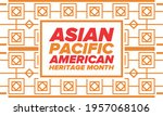 asian pacific american heritage ... | Shutterstock .eps vector #1957068106