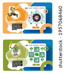 collection of infographics... | Shutterstock .eps vector #1957068460