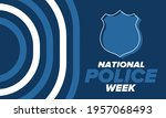 national police week in may.... | Shutterstock .eps vector #1957068493