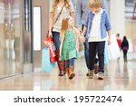 children on trip to shopping