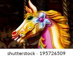 Carousel Horse  Close Up...