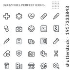 simple interface icons related... | Shutterstock .eps vector #1957333843