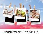 composite image of instant... | Shutterstock . vector #195734114