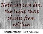 inspirational sign | Shutterstock . vector #195738353