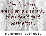 motivational sign | Shutterstock . vector #195738356