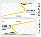 digital marketing banner... | Shutterstock .eps vector #1957425163