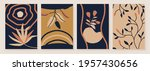abstract botanical organic art...   Shutterstock .eps vector #1957430656
