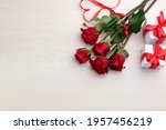 Beautiful Red Roses  Heart...