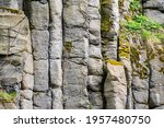 Rock Background. Structure Of...