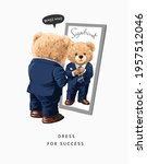 dress for success slogan with...   Shutterstock .eps vector #1957512046