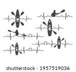 kayak life vector  kayak life...   Shutterstock .eps vector #1957519036