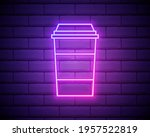 coffee  cappuccino  drink neon...