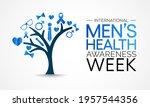 men's health week is observed... | Shutterstock .eps vector #1957544356